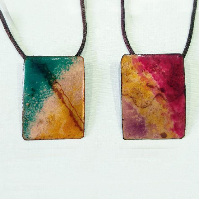a8f374dfc3c7 curso de joyería esmaltada sobre metal cobre madrid esmalte bisutería