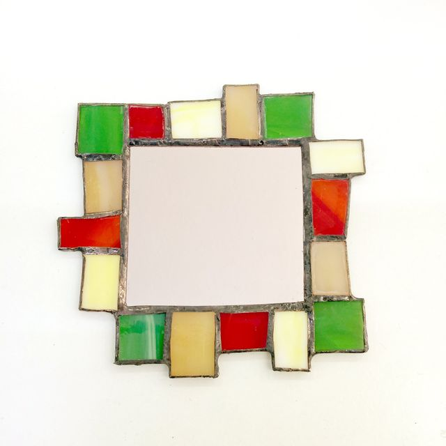 curso taller tiffany espejo marco soldar estaño vidrio cristal madrid