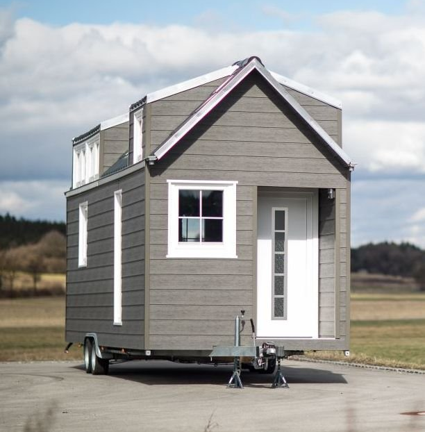 Tiny House Allgau Unser Musterhaus