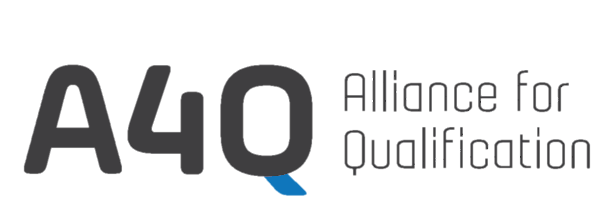 A4Q Alliance 4 Qualification has the mission to create globally leading content and certification schemes in a independent environment. It was founded by different organizations with the aim to work independent from a specific exam provider or a specific training provider with a long term focus on lifelong learning. It was founded by different organizations with the aim to work independent from a specific exam provider or a specific training provider with a long term focus on lifelong learning. A4Q is the new, independent education facility that generates high quality content for qualifications with innovative solutions that enable its partners to play a leading role in a fast changing world.