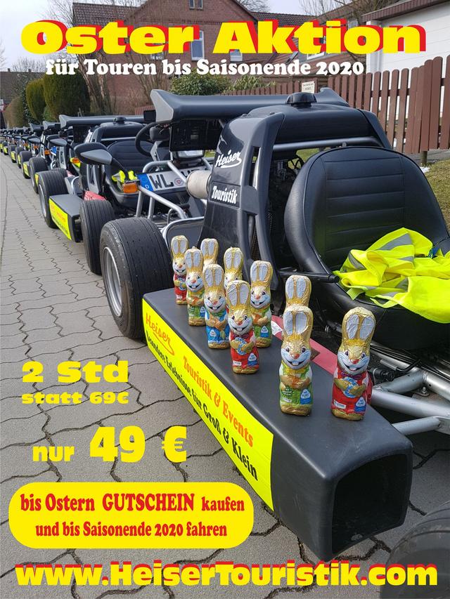 Straßenkart Tour Hamburg /& Umgebung  Gutschein Kartfahren GoKart Stadtführung