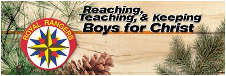 Reach, Teaching, & Keeping Boys for Christ Logo