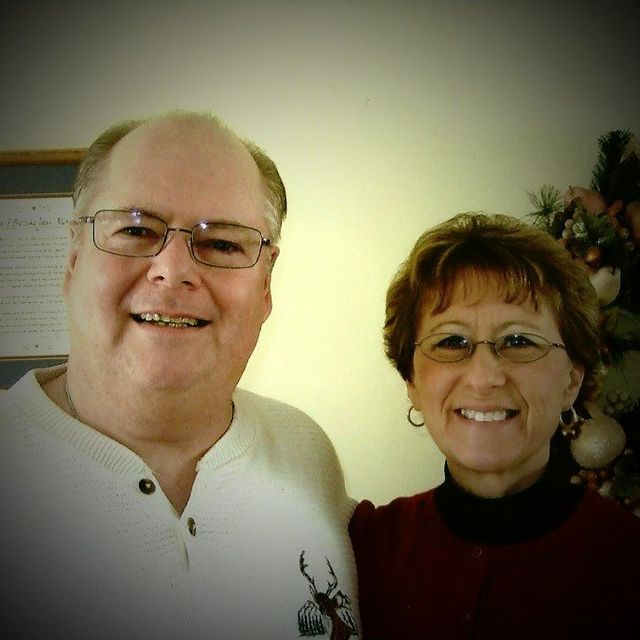 Pastor Timothy Hume Next To His Wife Cindy