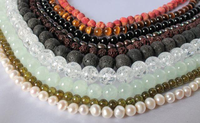 Juwelier-Piel-Edelsteinketten
