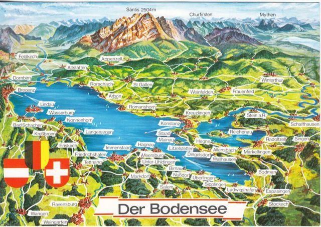 Der Bodensee Das Schwabische Meer