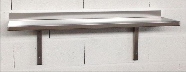 Stainless Steel Wall Shelf 300mm Deep
