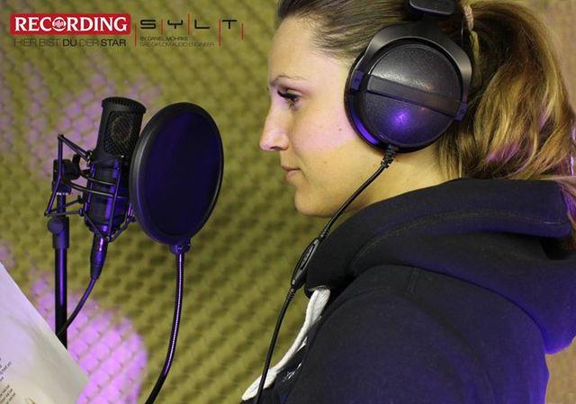 Gesangsaufnahme Recording Sylt