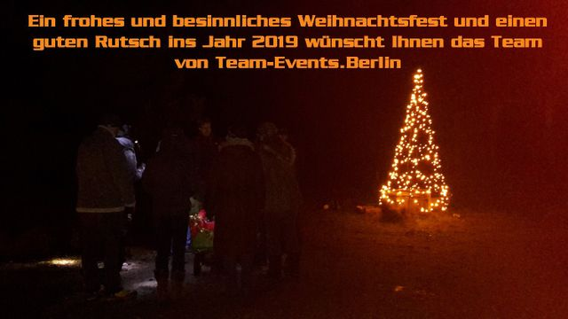 Weihnachtsgrüße Aus Berlin.Aktuelles Von Und Mit Team Events Berlin