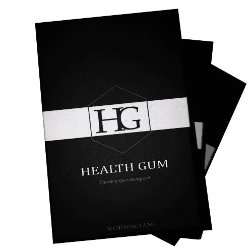 Chewing-gum énergisant HealthGum