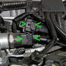 Plug entfernen und Tuningbox anschließen