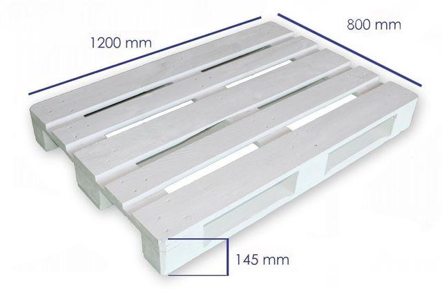 Palet EURPEO Reciclado 120X80 para Mueble