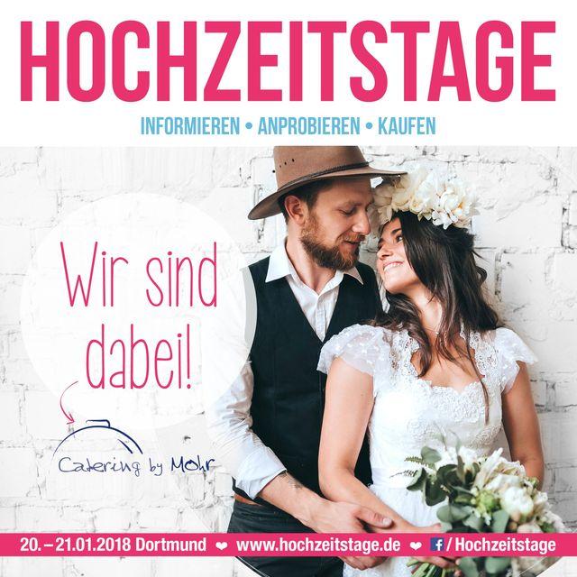 Hochzeitsmesse 2018 Dortmund: Wir sind dabei