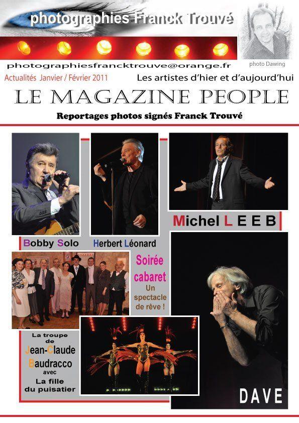Michel Leeb / soirée cabaret / Herbert Léonard / Pierre Bonte / Dave / la troupe de Jean - Claude Baudracco / Bobby Solo photo franck trouvé