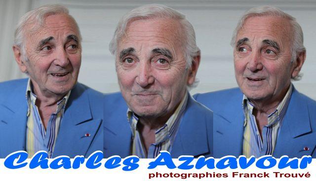 charles aznavour,photo concert franck trouvé,