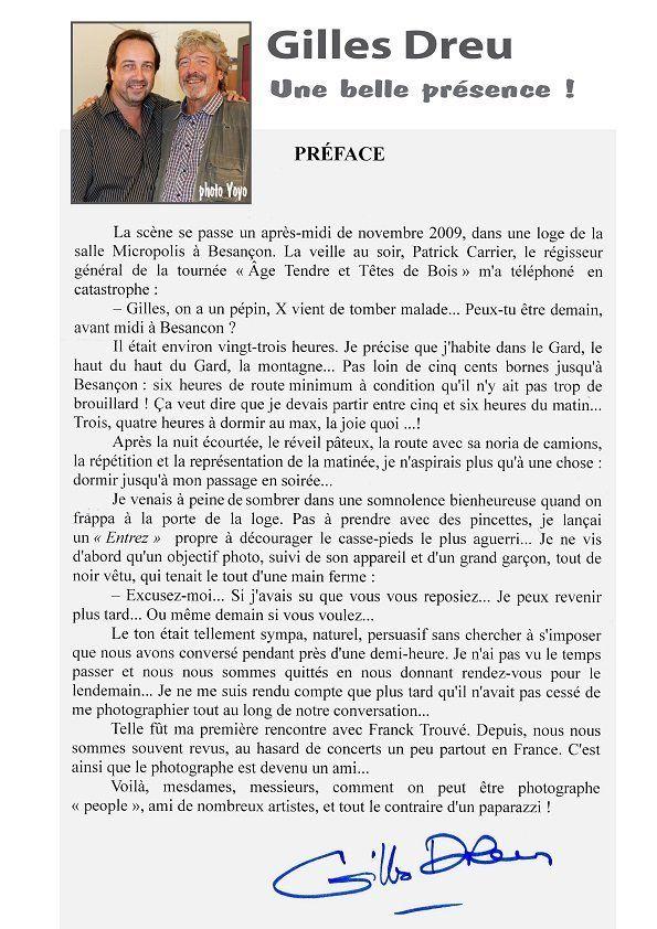 preface de gilles dreu du livre la grande affiche des artistes d'hier et d'aujourd'hui du photographe franck trouvé