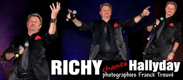 richy johnny hallyday photo franck trouvé