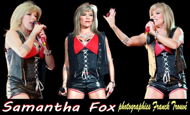 samantha fox photo franck trouvé