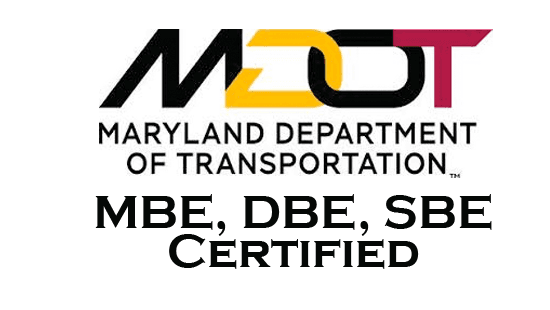 mbe dbe sbe certification certified mdot maryland anglin enterprise techco wbe consulting services minority business transportation department sector government announces