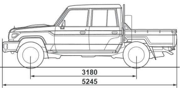Bhogals Toyota - Landcruiser 70 Series