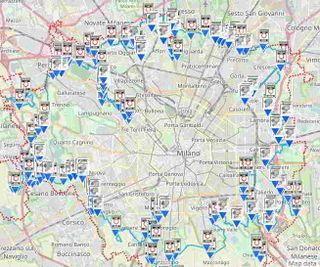 Cartina Dettagliata Lombardia.Scarica La Mappa Di Ztl Milano E La Mappa Autovelox Milano