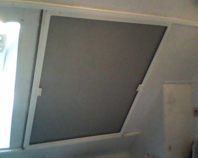 Dachflächenfenster seitlich schiebbar