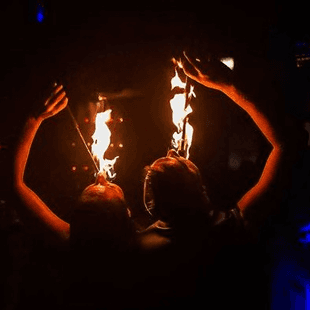Fire Shows Led Lights And Pyrotechnic Effects