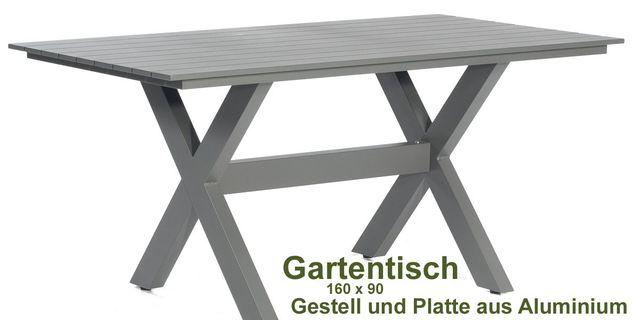 Gartenmöbel-Set günstig & gut aus Aluminium – individuell selbst ...