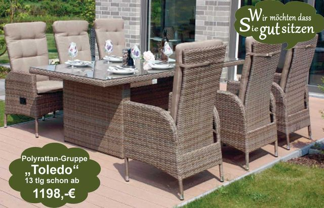 gartenst hle polyrattan 20 versch top hochlehner modelle zur auswahl. Black Bedroom Furniture Sets. Home Design Ideas