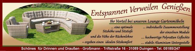 Gartenmöbel Lounge Mit Der Optimalen Sitzhöhe Und Sitztiefe