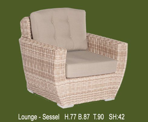 Gartenmöbel Loungemöbel-ideale Sitzhöhe-individuell zusammenstellen...