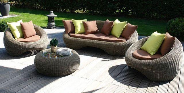 Gartenmöbel set lounge  Gartenmöbel Lounge-Sets aus Polyrattan zu günstigen Setpreisen ...