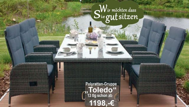 Schon Egal Ob Das Polyrattan Gartenmöbel Set Toledo Consul Garden Nach Hamburg  Rostock Berlin Bremen Flensburg Kiel
