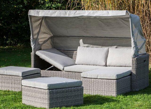 Gartenmöbel Lounge-Sets Aus Polyrattan Zu Günstigen Set