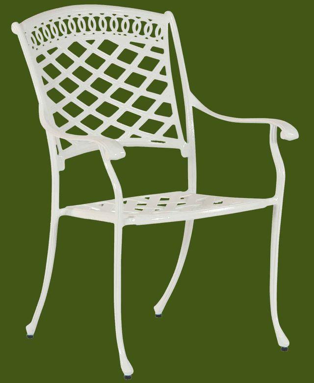 wei e aluguss gartenm bel haben stil sind wetterfest bequem leicht und stabil. Black Bedroom Furniture Sets. Home Design Ideas