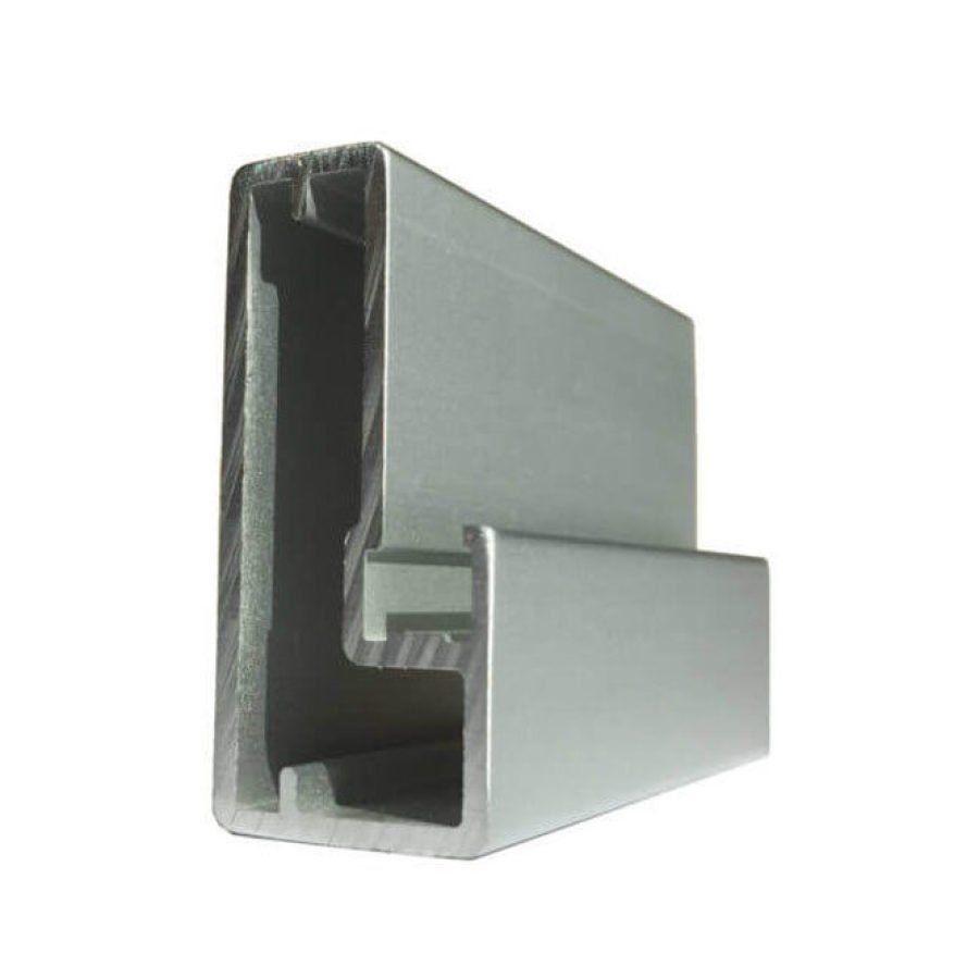 Ante in alluminio e vetro - Ottavio snc arredamenti