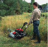 Special Mower to cut long grass