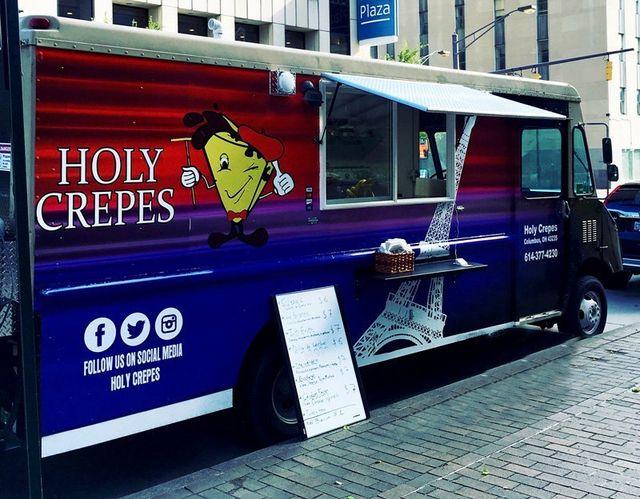 Holy Crepes Food Truck Columbus Ohio