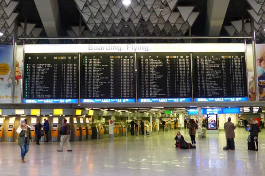Abflugzeiten Flughafen Frankfurt