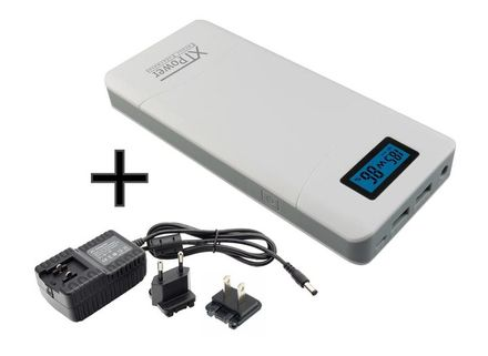 Dual USB 5V DC 9V // 12V 2A for Tablets NDSL PSP Digital Cameras NDS XTPower MP-10000 External Battery Pack with 10000mAh US Wall Charger Car Charger Included Smart Phones GoPro