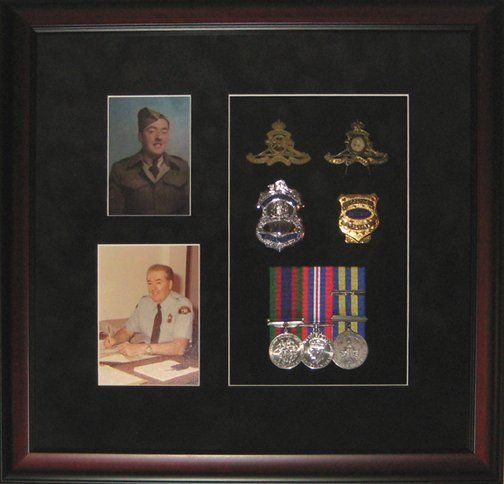 Shadow Boxes - Multi-Generation Military and Police