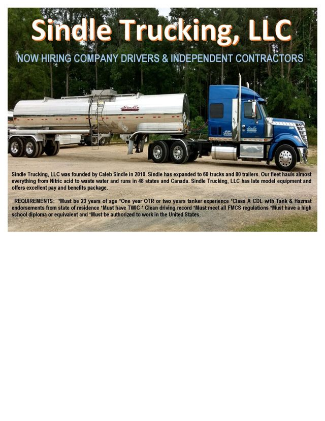 hiring truck drivers as independent contractors