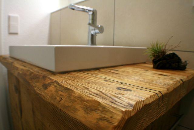 Hervorragend Waschtisch 2 | Massivholzmöbel aus Altholz von woodesign XW77