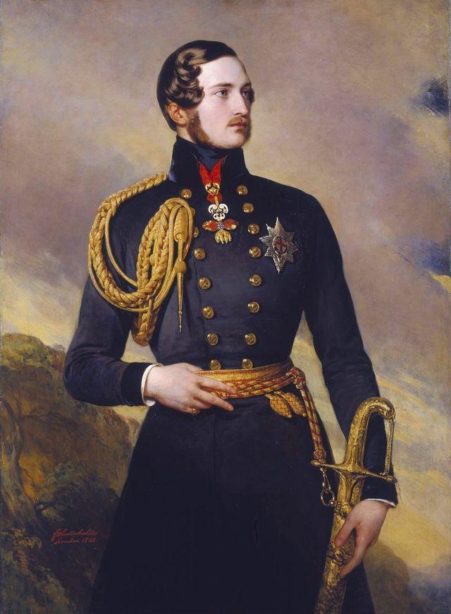 Prinz Albert von Sachsen-Coburg-Gotha - Sein Leben, Seine