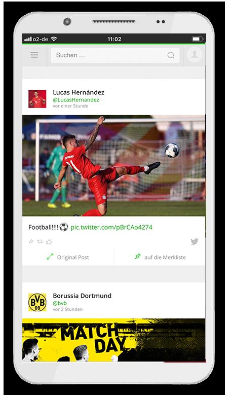 Die Kostenlose Fussball Bundesliga App Mit Social Media