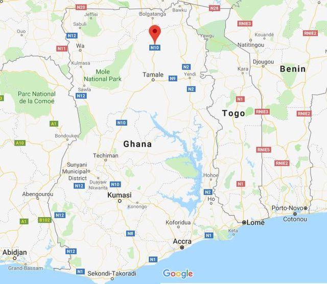 Ghana Karte.Der Afrikanische Staat Ghana Geographie Und Kultur