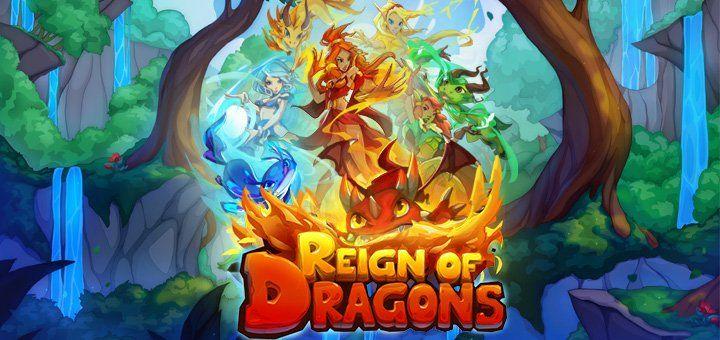 Reign of Dragons Slot Machine