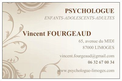 Vincent FOURGEAUD Psychologue Limoges Cabinet Mdical