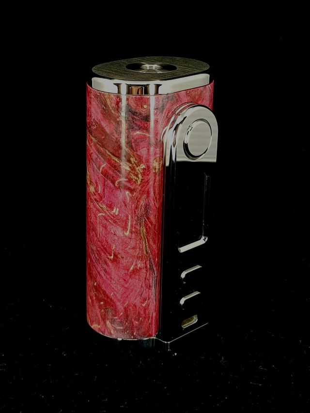Ultroner high end stabilized wood box mod and squonkers