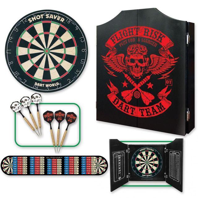 Flight Risk Dartboard Cabinet And Kit