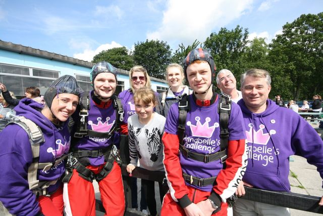 Team Home Bargains Skydive